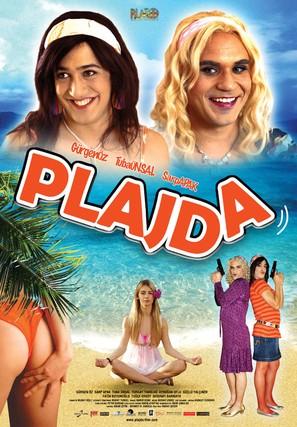 Plajda - Turkish poster (thumbnail)