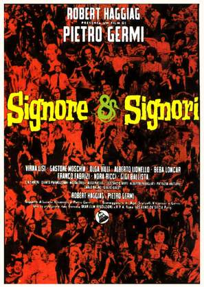 Signore & signori - Italian Movie Poster (thumbnail)