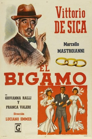 Bigamo, Il - Argentinian Movie Poster (thumbnail)