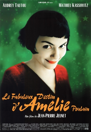 Le fabuleux destin d'Amélie Poulain - French Movie Poster (thumbnail)