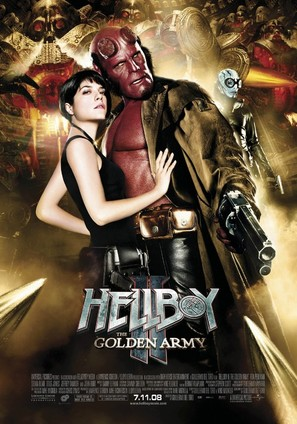 Hellboy II: The Golden Army - Movie Poster (thumbnail)