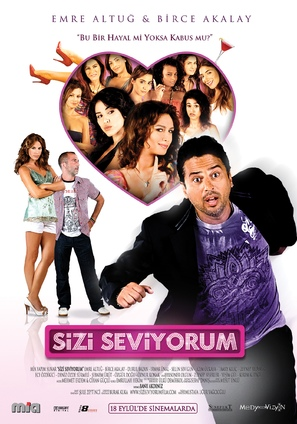 Sizi seviyorum - Turkish Movie Poster (thumbnail)