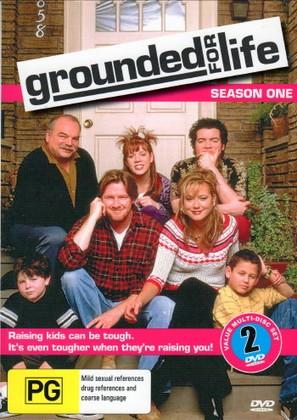 """Grounded for Life"" - Australian DVD movie cover (thumbnail)"