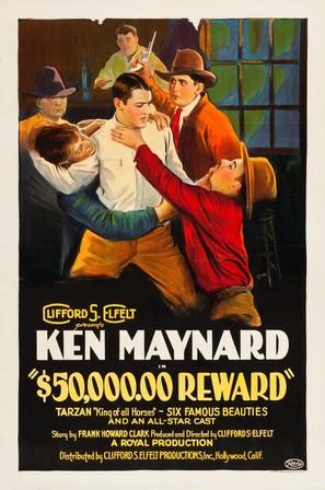 $50,000 Reward - Movie Poster (thumbnail)