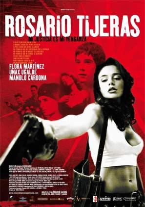 Rosario Tijeras - Spanish Movie Poster (thumbnail)