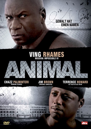 Animal - German DVD cover (thumbnail)