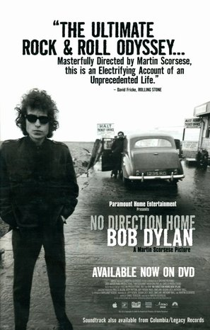 No Direction Home: Bob Dylan - A Martin Scorsese Picture - Movie Poster (thumbnail)