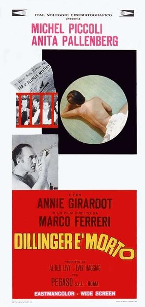 Dillinger è morto - Italian Movie Poster (thumbnail)