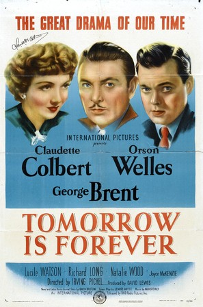 Tomorrow Is Forever - Movie Poster (thumbnail)