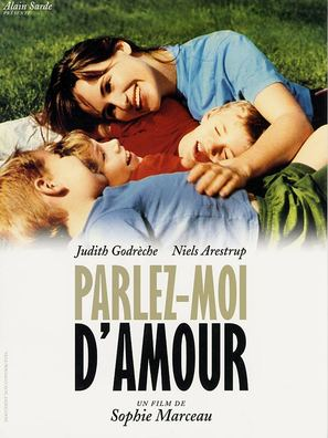 Parlez-moi d'amour - French DVD movie cover (thumbnail)
