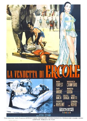La vendetta di Ercole - Italian Movie Poster (thumbnail)