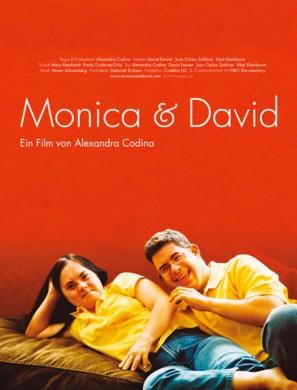 Monica & David - German Movie Poster (thumbnail)