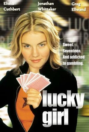 Lucky Girl - Canadian DVD movie cover (thumbnail)