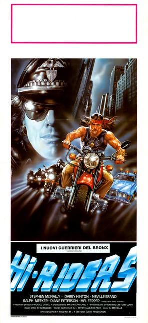 Hi-Riders - Italian Movie Poster (thumbnail)