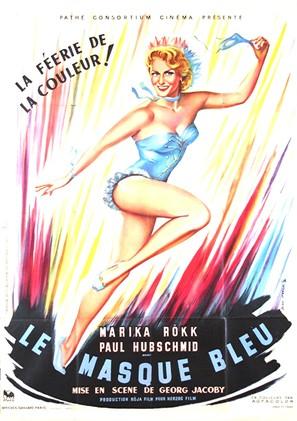 Maske in Blau - French Movie Poster (thumbnail)