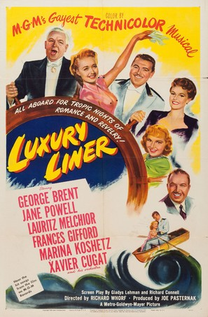 Luxury Liner - Movie Poster (thumbnail)
