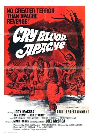 Cry Blood, Apache - Movie Poster (thumbnail)