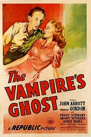 The Vampire's Ghost - Movie Poster (thumbnail)