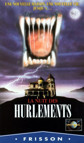 The Haunting of Seacliff Inn - French VHS movie cover (thumbnail)