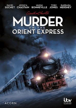 """""""Agatha Christie's Poirot"""" Murder on the Orient Express - DVD movie cover (thumbnail)"""
