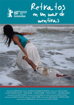 Retratos en un mar de mentiras - Colombian Movie Poster (thumbnail)