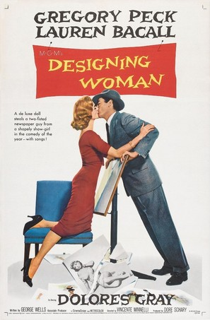 Designing Woman - Movie Poster (thumbnail)