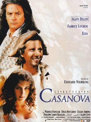 Le retour de Casanova - French Movie Poster (thumbnail)