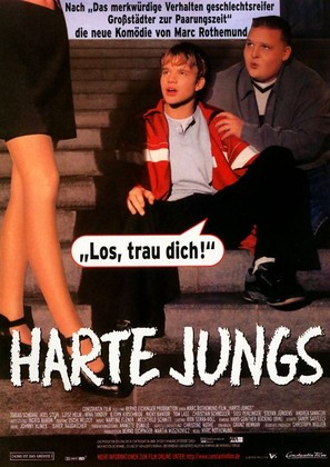 Harte Jungs - German Movie Poster (thumbnail)
