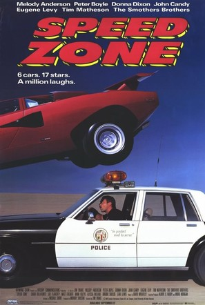 Speed Zone! - Video release movie poster (thumbnail)