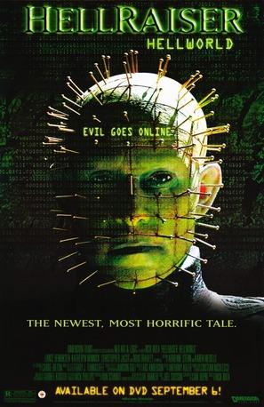 Hellraiser: Hellworld - Video release movie poster (thumbnail)