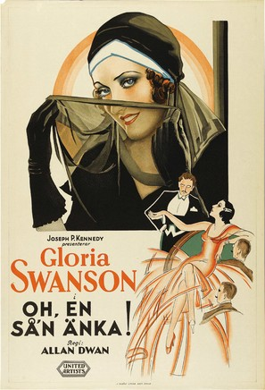 What a Widow! - Swedish Movie Poster (thumbnail)