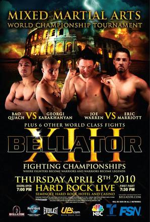 """Bellator Fighting Championships"" - Movie Poster (thumbnail)"