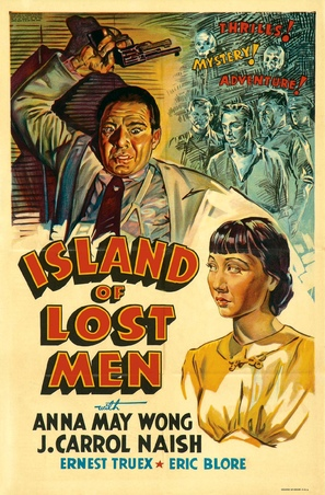 Island of Lost Men - Movie Poster (thumbnail)