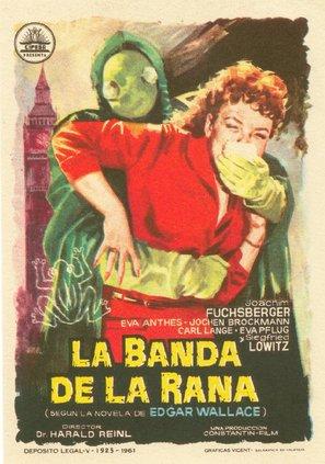 Der Frosch mit der Maske - Spanish Movie Poster (thumbnail)