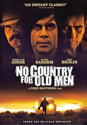 No Country for Old Men - DVD movie cover (thumbnail)