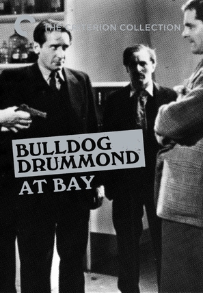 Bulldog Drummond at Bay - DVD cover (thumbnail)