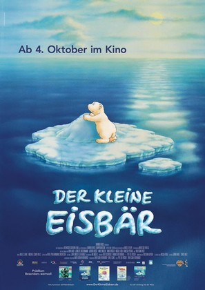 Der kleine Eisbär - German Movie Poster (thumbnail)