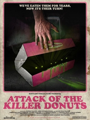 Attack of the Killer Donuts - Movie Poster (thumbnail)
