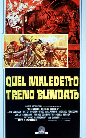 Quel maledetto treno blindato - Italian Movie Poster (thumbnail)
