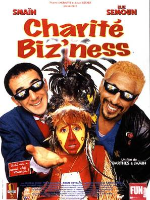 Charité biz'ness - French Movie Cover (thumbnail)