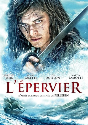 """""""L'épervier"""" - French DVD movie cover (thumbnail)"""