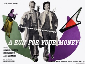 A Run for Your Money - British Movie Poster (thumbnail)