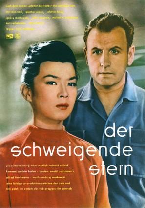 Der schweigende Stern - German Movie Poster (thumbnail)