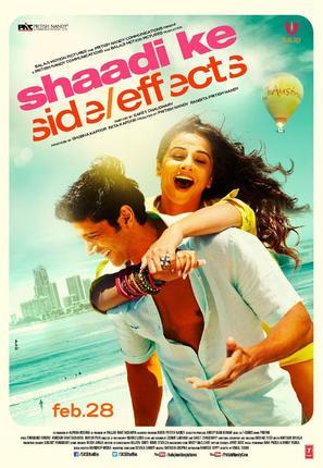 Shaadi Ke Side Effects - Indian Movie Poster (thumbnail)