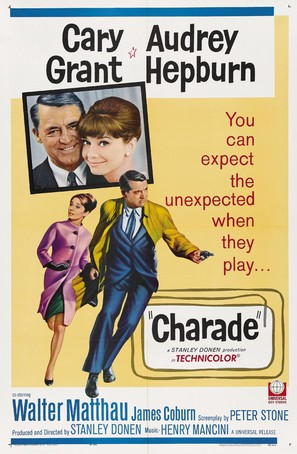 Charade - Movie Poster (thumbnail)