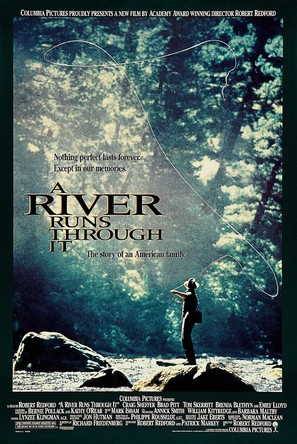 A River Runs Through It - Movie Poster (thumbnail)
