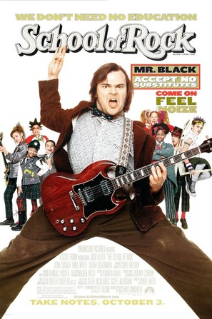 The School of Rock - Movie Poster (thumbnail)