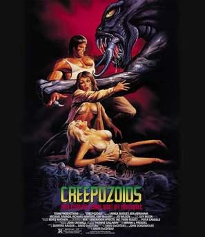 Creepozoids - Theatrical movie poster (thumbnail)