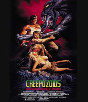 Creepozoids - Theatrical poster (thumbnail)
