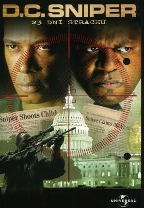 D.C. Sniper: 23 Days of Fear - Czech DVD cover (thumbnail)